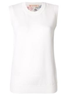 Marni sleeveless knitted top