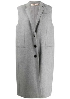 Marni sleeveless overcoat