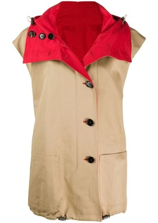 Marni sleeveless trench coat
