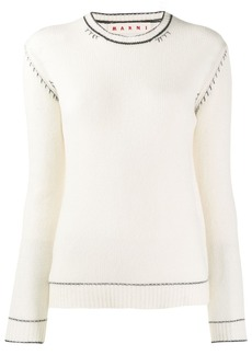 Marni slim-fit cashmere jumper