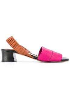 Marni sling-back leather sandals