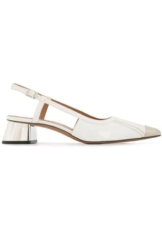 Marni sling-back pointed pumps