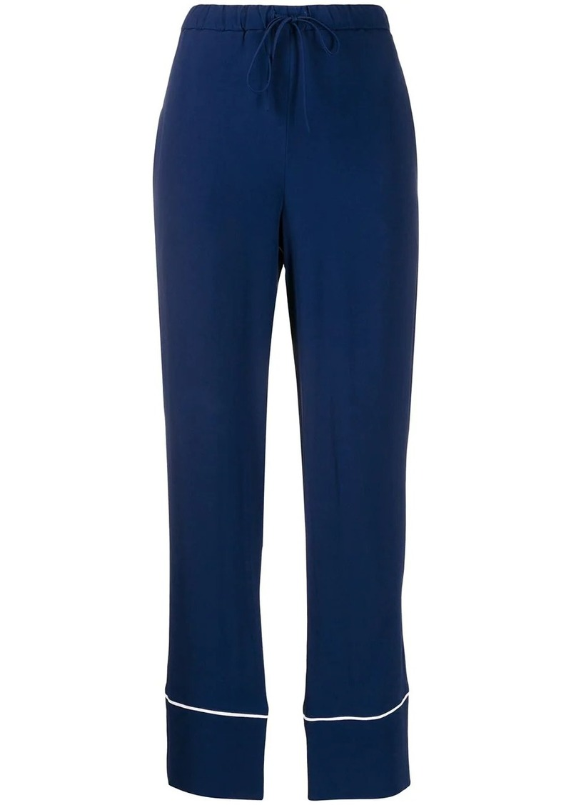 Marni straight cropped trousers