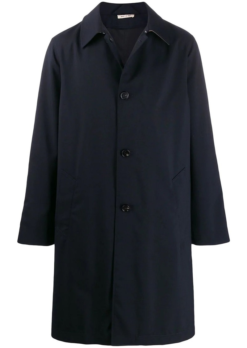Marni straight fit coat
