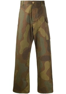 Marni straight leg cargo trousers