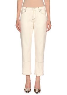 Marni Straight-Leg Cropped Jeans