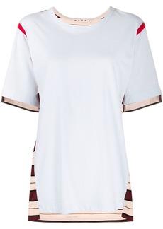 Marni striped detail T-shirt