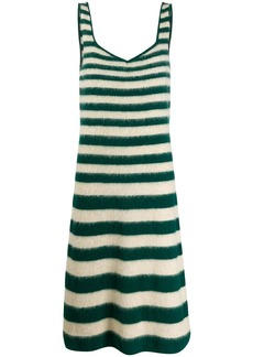Marni striped knitted dress