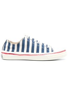 Marni striped lace-up sneakers