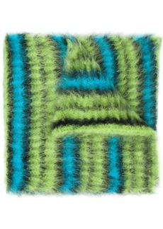 Marni striped oversized scarf