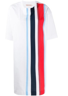 Marni striped oversized T-shirt dress