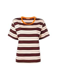 Marni striped pattern T-shirt