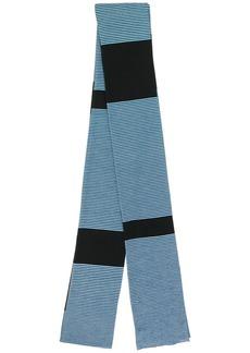 Marni striped wool scarf