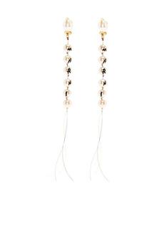 Marni tassel pearl drop earrings