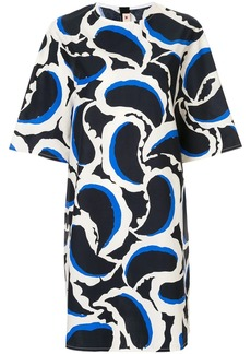 Marni teardrop print dress