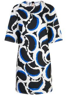 Marni Teardrop print T-shirt dress