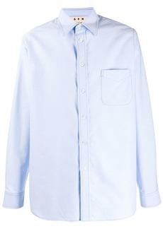 Marni topstitched shirt