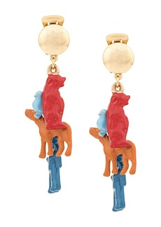 Marni toy charm earrings