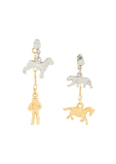 Marni toy charm pendants earrings