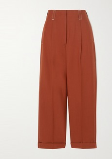 Marni Tropical Wool-twill Straight-leg Pants