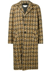 Marni tweed oversized coat