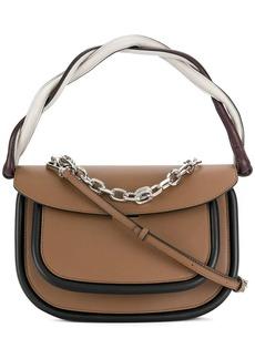 Marni twisted handle tote bag