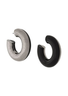 Marni two-tone hoop earrings