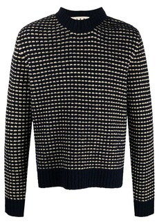 Marni two-tone knitted jumper