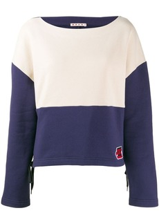 Marni two-tone sweatshirt