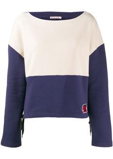 Marni two-tone sweatshirt