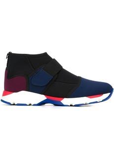 Marni velcro fastening hi-top sneakers