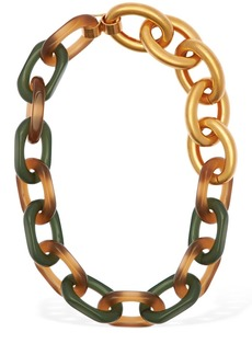 Marni Vertigo Multi Hoop Resin Necklace