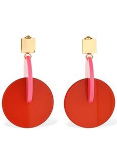 Marni Vertigo Pop Acrylic Clip-on Earrings