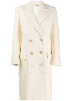 Marni virgin wool knit coat