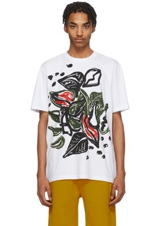 Marni White & Multicolor Graphic T-Shirt