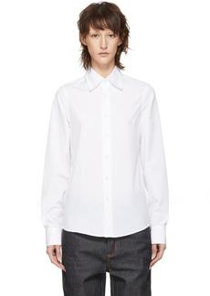 Marni White Bunny Patch Shirt