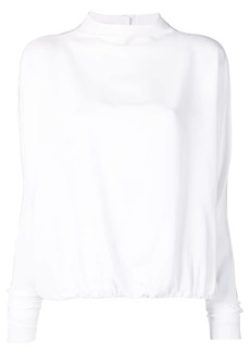 Marni wide funnel neck top
