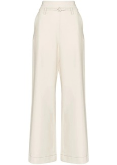 Marni wide-leg belted trousers
