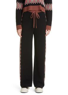 Women's Marni Argyle Knit Pants