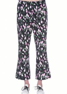 Women's Marni Floral Print Cotton Crop Pants