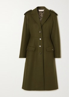 Marni Wool-blend Drill Coat