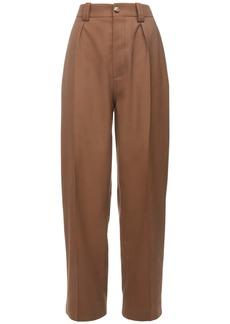 Marni Wool Gabardine Straight Pants