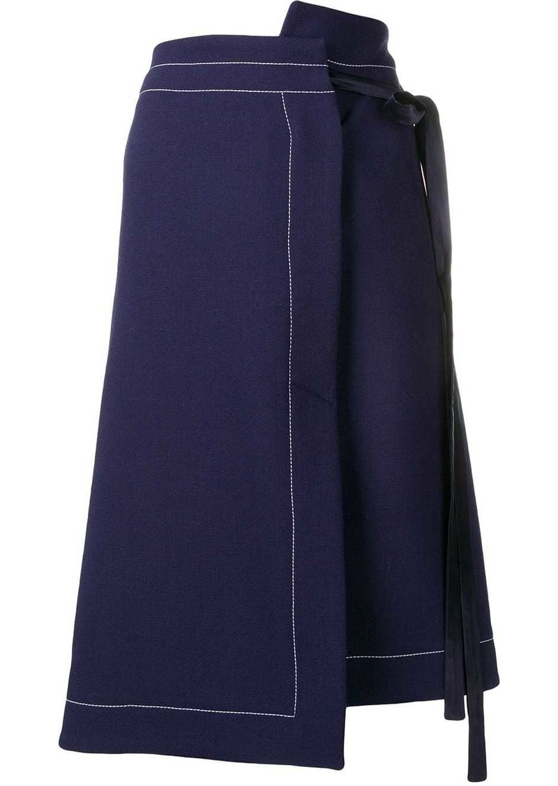 Marni wrap skirt