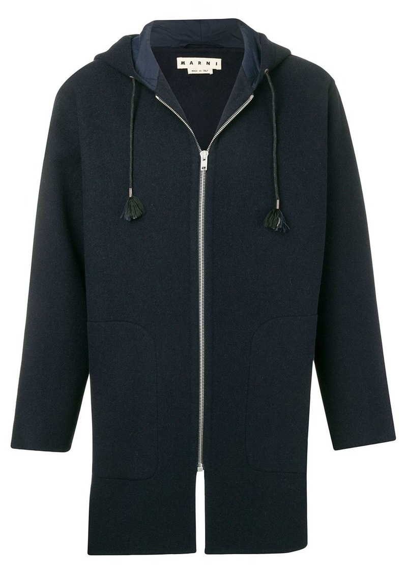 Marni zip-up duffle coat