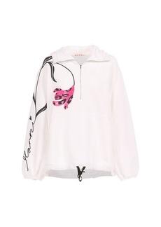 Marni Zippered neck hoodie