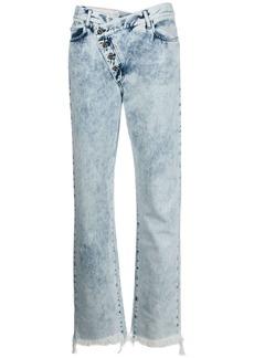 Marques' Almeida acid wash jeans