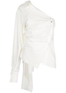 Marques' Almeida asymmetric deconstructed shirt