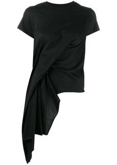 Marques' Almeida asymmetric draped-detail T-shirt