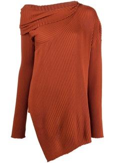 Marques' Almeida asymmetric long-sleeved jumper