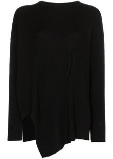 Marques' Almeida asymmetric ribbed knit jumper